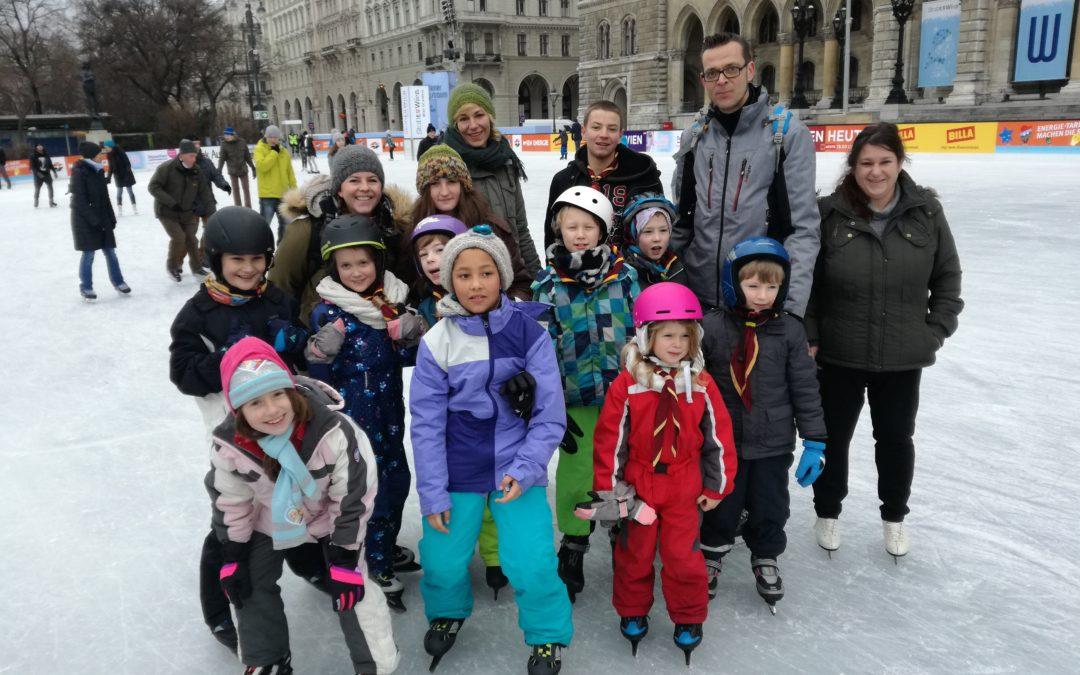 Eislaufen am Rathausplatz